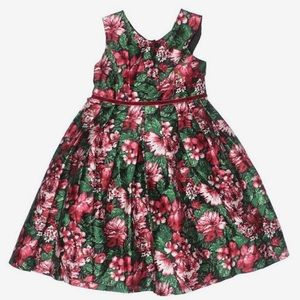 Pippa and Julie Red floral Dress